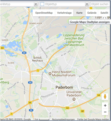 Google Maps und Traffic GPS-Ortung mOTelemartix | mobileObjects AG on